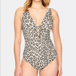Swim Solutions Lace Front Mio One Piece Swimsuit